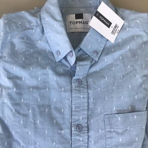 NWT Topman Button down